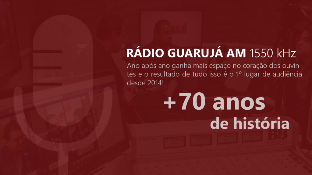 Rádio Guarujá AM +70 anos de hitória